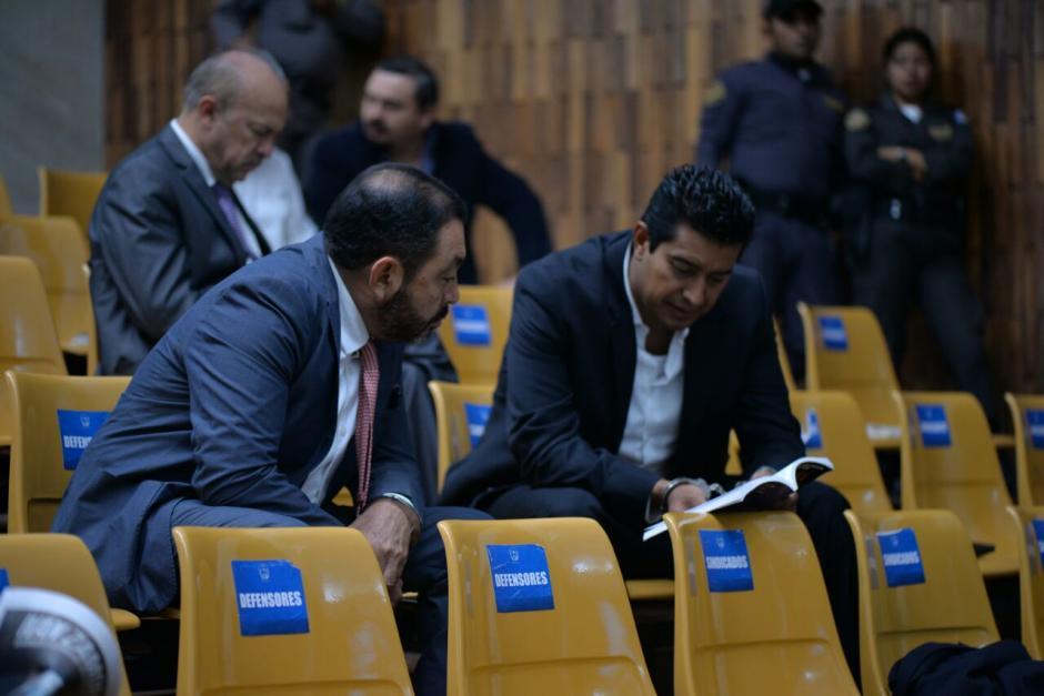 Mauricio López y Rudy Gallardo quedan ligados a proceso por haber recibido sobornos. (Foto: Wilder López/Soy502)