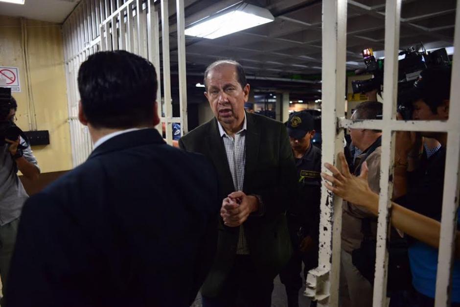 El exdirector del Congreso aseguró que cuenta con una larga carrera administrativa. (Foto: Jesús Alfonso /Soy502)