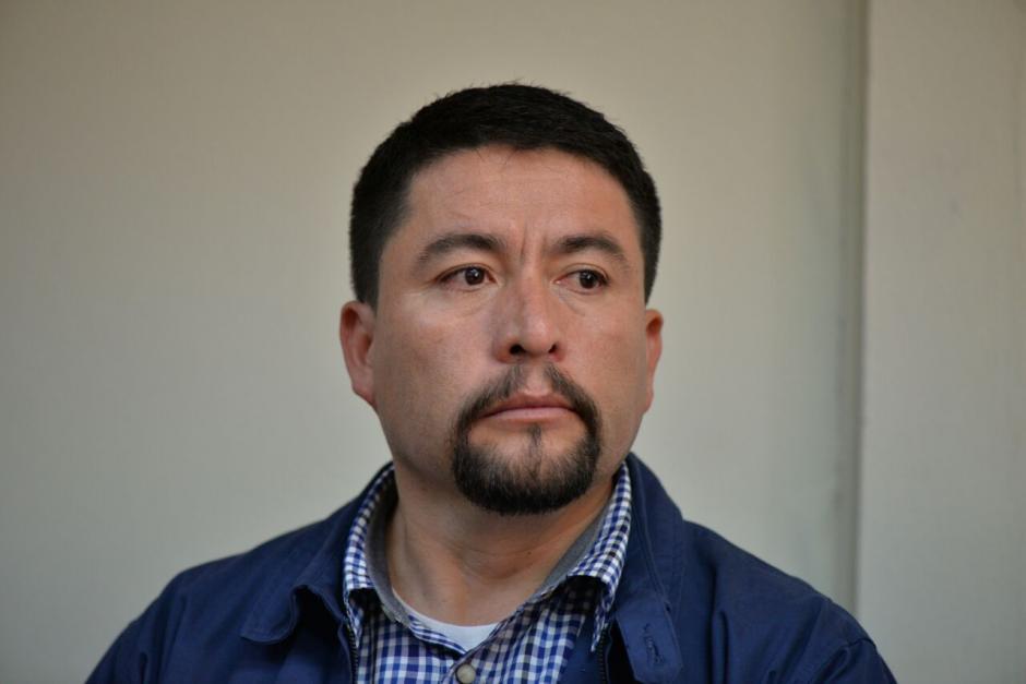El alcalde de Santa Catarina Pinula, Víctor Alvarizaes, pasará el fin de semana en un sanatorio con lo que evitó la prisión provisional. (Foto: Wilder López/Soy502)