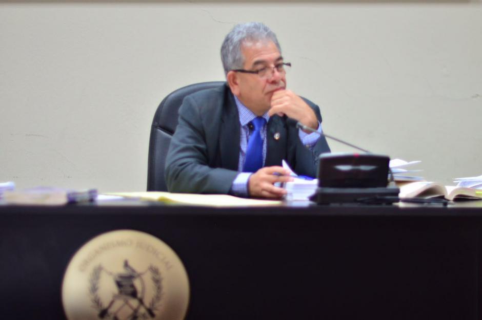El juez Miguel Ángel Gálvez resolverá si enfrenta juicio la esposa del alcalde de Puerto de San José. (Foto: Jesús Alfonso/Soy502)