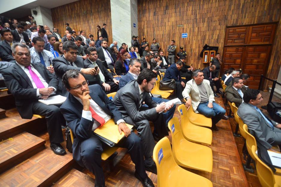 Las audiencias del caso Cooptación del Estado se realizan en la sala de vistas de la Corte Suprema de Justicia. (Foto: Jesús Alfonso/Soy502)