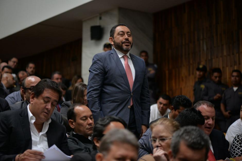 El exministro de Gobernación, Mauricio López, fue ligado a proceso y ahora se discute si seguirá en prisión preventiva. (Foto: Wilder López/Soy502)