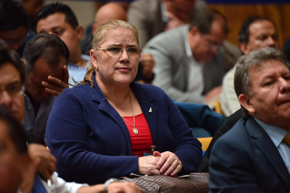 La exsubsecretaria de la SAAS y miembro del Partido Patriota, Edna Maribel Berganza, también pretende un juicio exprés. (Foto: Archivo/Soy502)