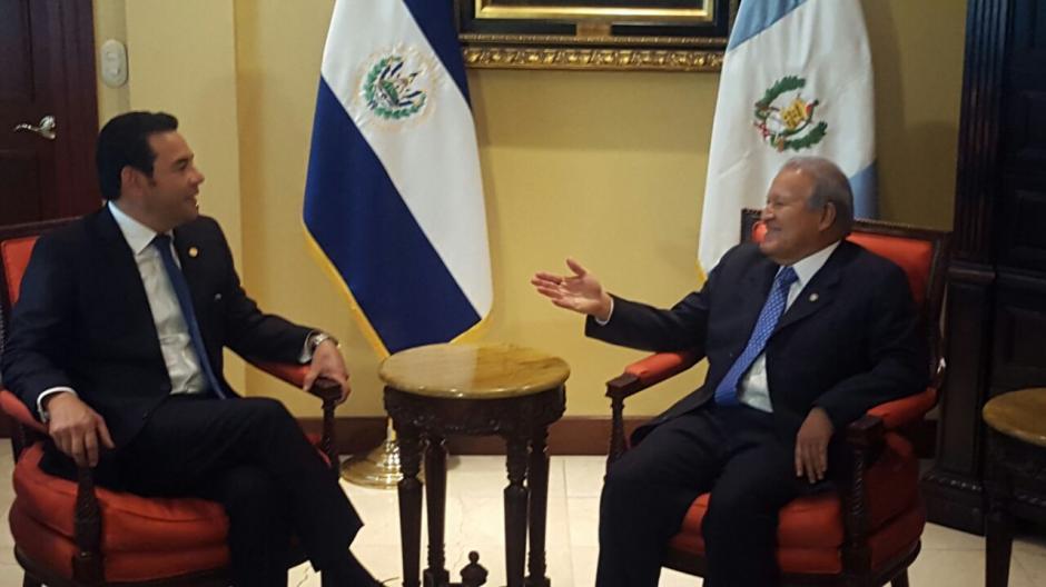 Durante la reunión bilateral se decidió crear un grupo especial contra el narcotráfico. (Foto: Secretaría)