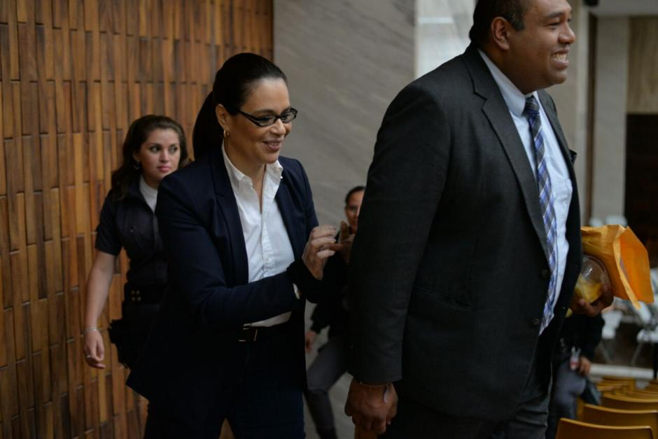 Roxana Baldetti fue capturada el 21 de agosto de 2015 por el caso La Línea. (Foto: Wilder López/Soy502)