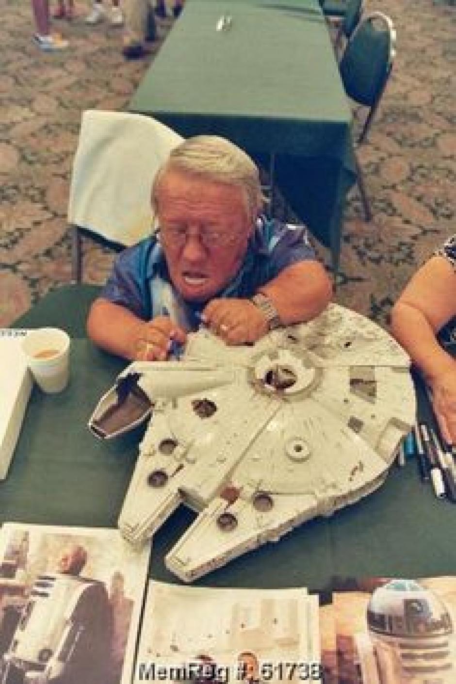 Baker fue uno de los más queridos en el elenco de Star Wars. (Foto: Twitter)