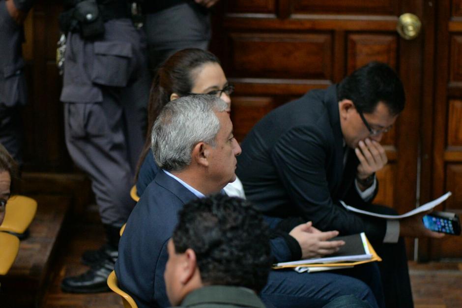 Este es el noveno día de audiencia de primera declaración en el caso Cooptación del Estado. (Foto: Wilder López/Soy502)