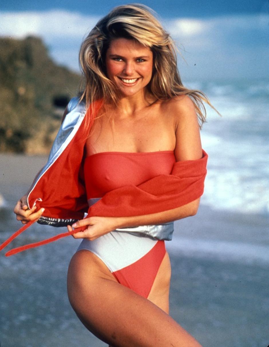 La carrera como modelo, le ayudó a Christie a mantener su figura. (Foto: eldiario.ec))