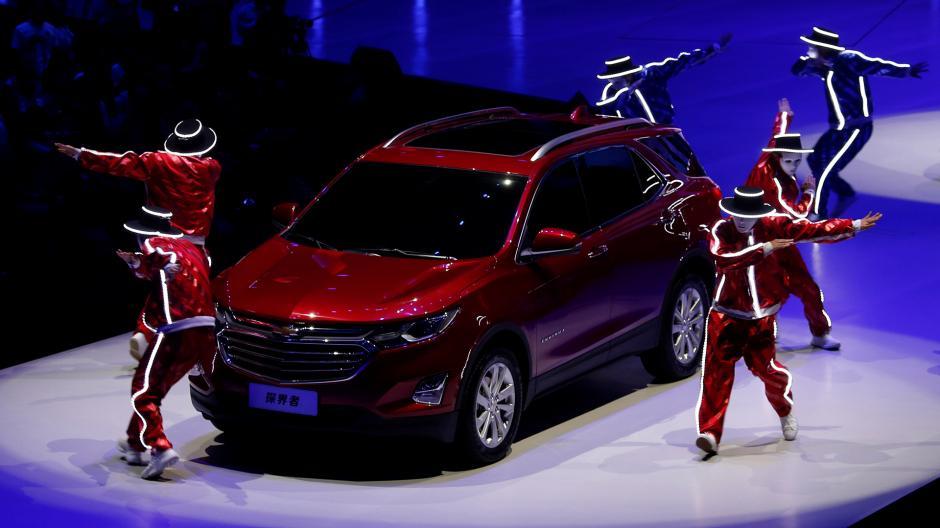 Chevrolet también presentó su nueva Equinox SUV. (Foto: Infobae)