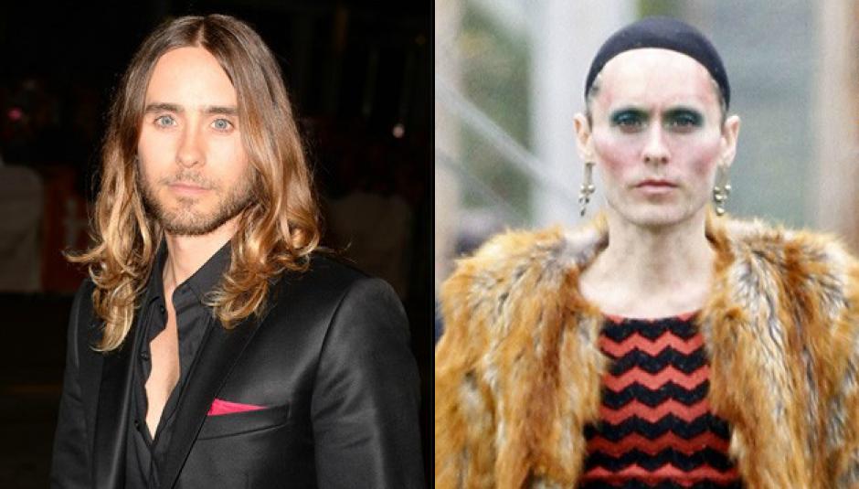 Jared Leto bajó aproximadamente 29 libras para interpretar a una mujer transexual. (Foto: CNN