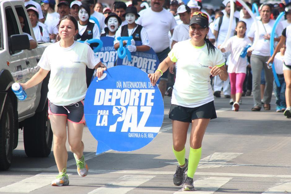 El recorrido de la caminata fue de 5 kilómetros. (Foto: José Dávila/Soy502)