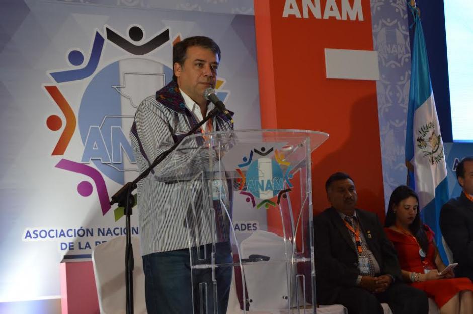 El presidente de la ANAM Edwin Escobar estuvo a cargo de la actividad. (Foto: María Olga Vega/ Soy502)