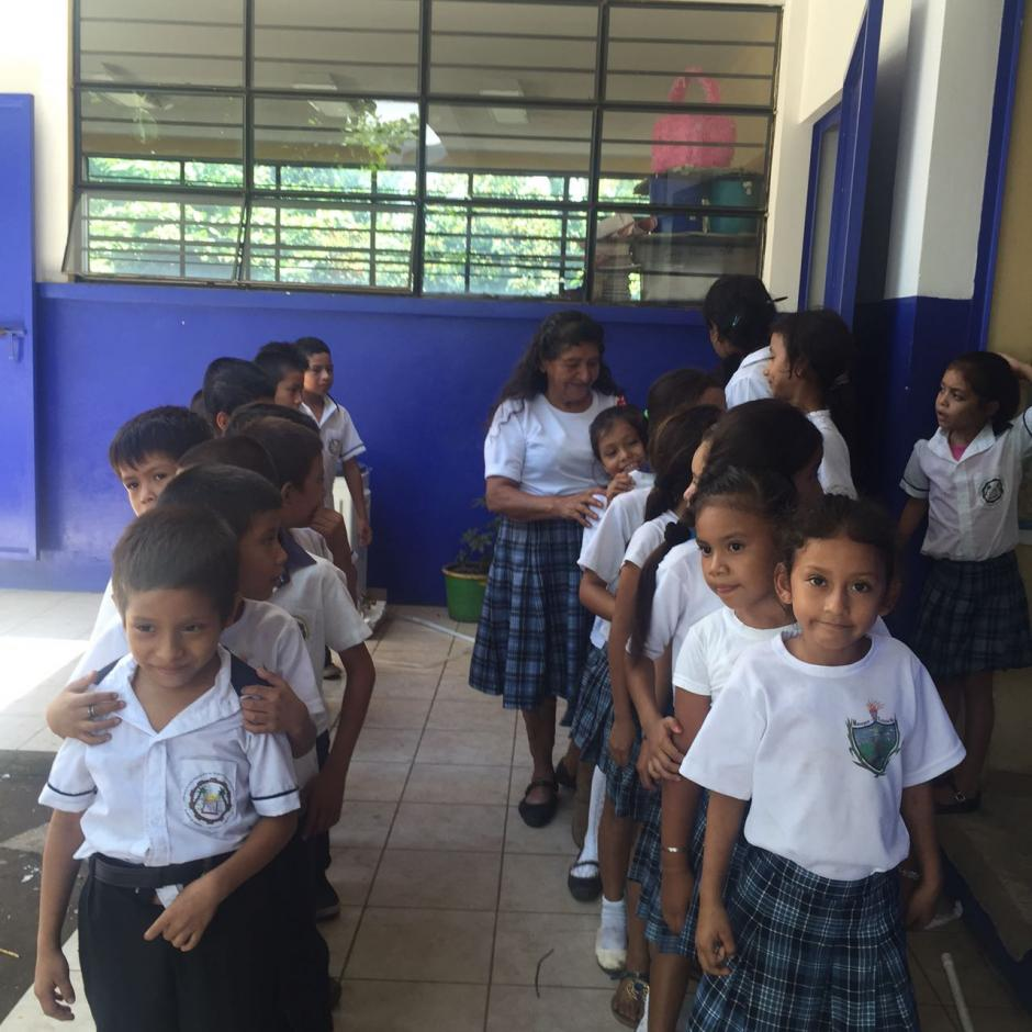 Los niños tienen un gran respeto hacia ella y a veces le piden consejos. (Foto: Blanca Estela Contreras de Sazo)