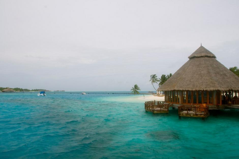El restaurante submarino en Conrad Maldives es el octavo puesto entre los destinos más románticos en el mundo. (Foto:cortesía del usuario de Flickr Ed Ralph)