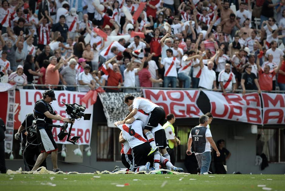 El superclásico entre River Plate y Boca Juniors se roba las miradas. (AFP).
