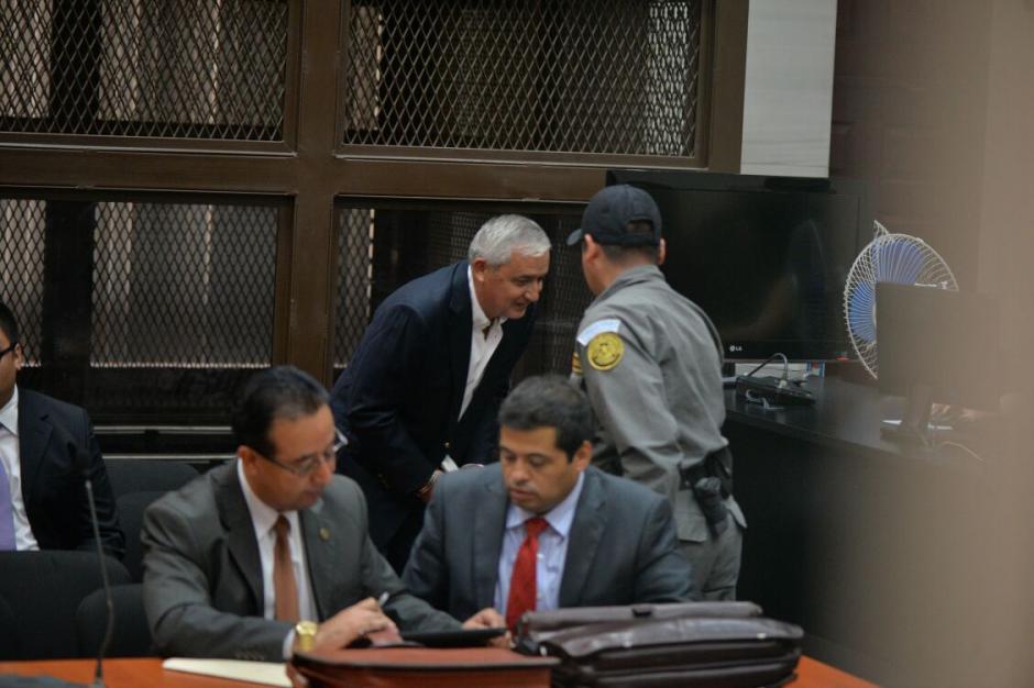 El expresidente Otto Pérez Molina es sindicado en el caso Cooptación del Estado. (Foto: Wilder López/ Soy502)