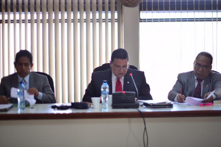 Durante el inicio del juicio, Reinoso aseguró que no incurrió en el delito de enriquecimiento ilícito. (Foto: Jesús Alfonso/Soy502)