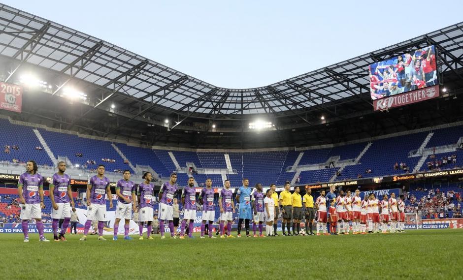 El Red Bull Arena albergó el debut de Antigua GFC en Liga de Campeones de Concacaf. (Foto: Antigua GFC)