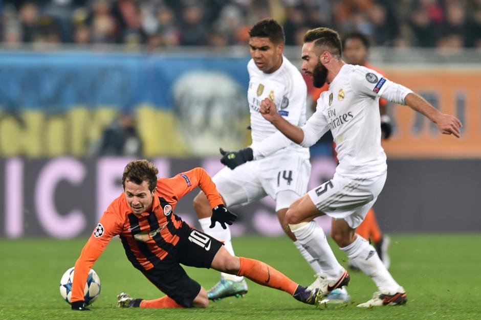 El Real Madrid con siguió un triunfo que lo ubica como líder del grupo. (Foto: AFP)