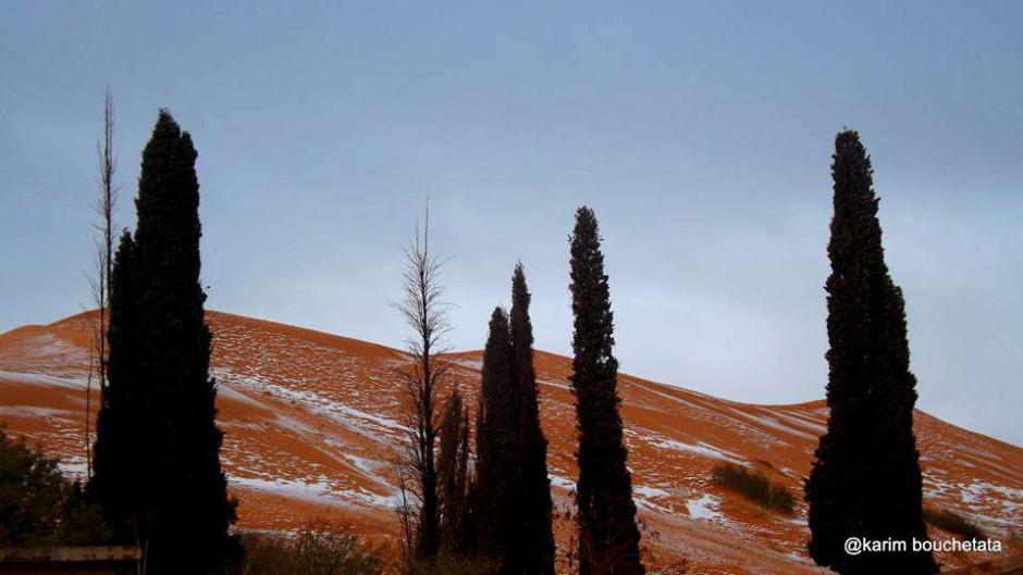 El inusual fenómeno ocurrió el pasado 19 de diciembre. (Foto: Karim Bouchetata)
