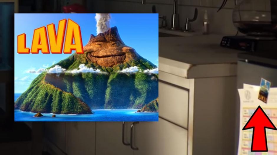 """Lava es un cortometraje que precedía a """"Intensa-mente """" y trataba sobre un volcán. Acá aparece la foto de ese volcán. (Foto: Captura YouTube)"""