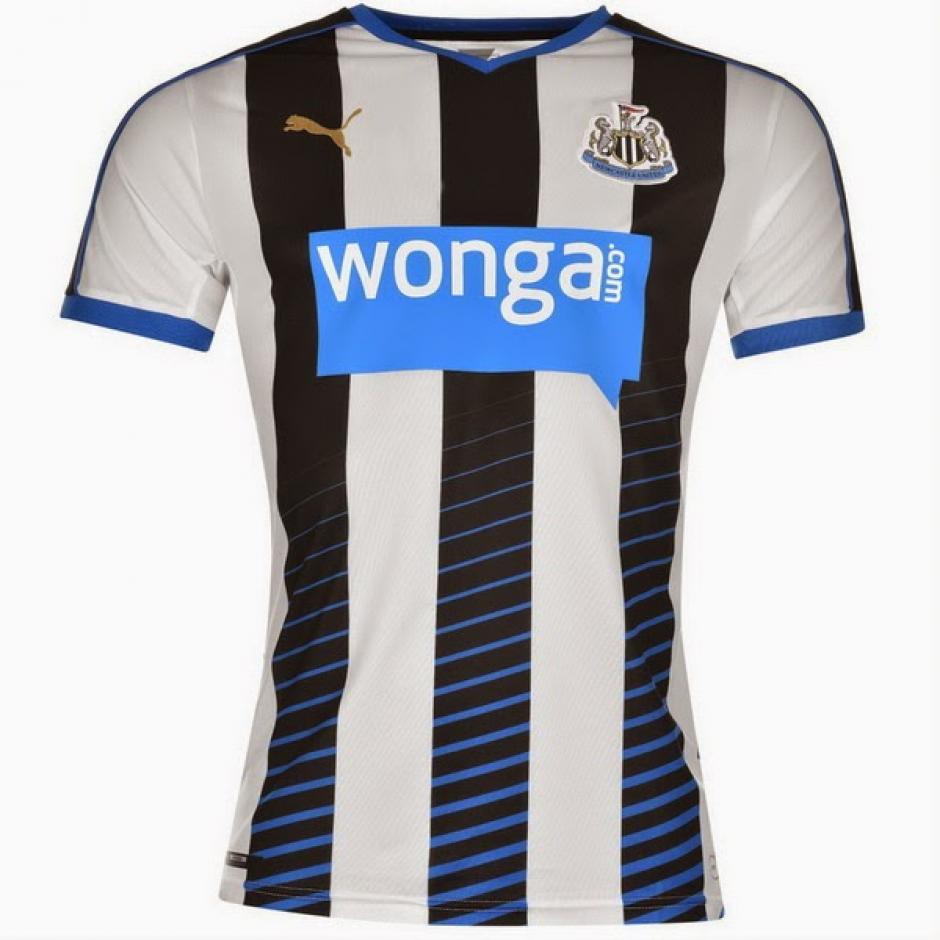 El escudo del equipo de Newcastle fue incluido en el ranking en el puesto ocho. (Foto: nuevascamisetasdefutbol.com)
