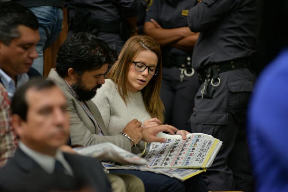 Pese a estar en prisión los sindicados continuaron viendo clasificados de motocicletas. (Foto: Wilder López/Soy502)