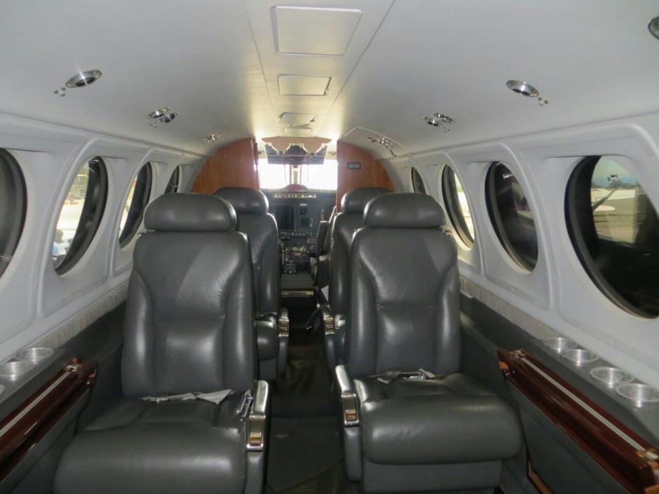 La lujosa avioneta de la familia hondureña Rosenthal fue traída a Guatemala en octubre de 2015. (Foto: MP)