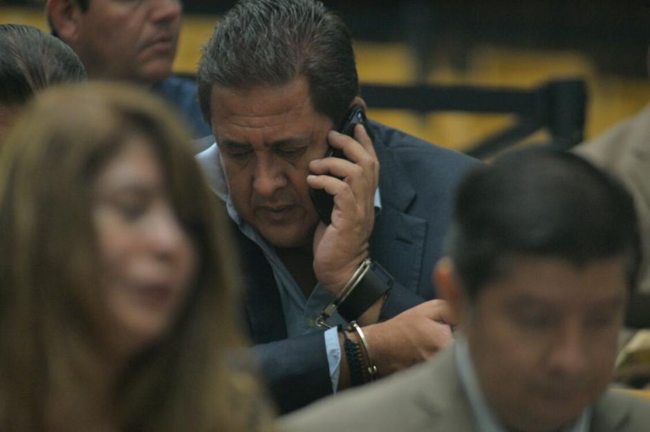 El sindicado Gustavo Alejos todavía no ha rendido su primera declaración. (Foto: Wilder López/Soy502)