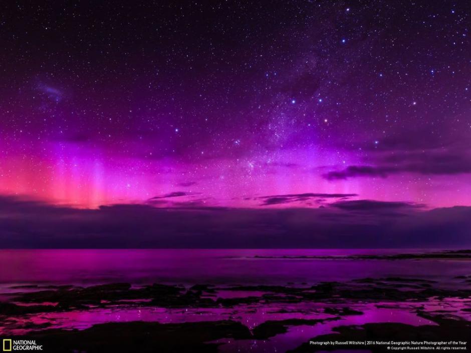 Luces nocturnas captadas en todo su esplendor. (Foto: Russel Wiltshire/National Geographic)