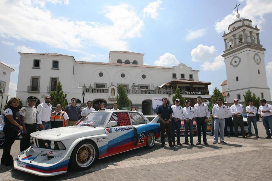 Campeones de todos los tiempos en Guatemala competirán el domingo en el autódromo Pedro Cofiño. (Foto: César Pérez)