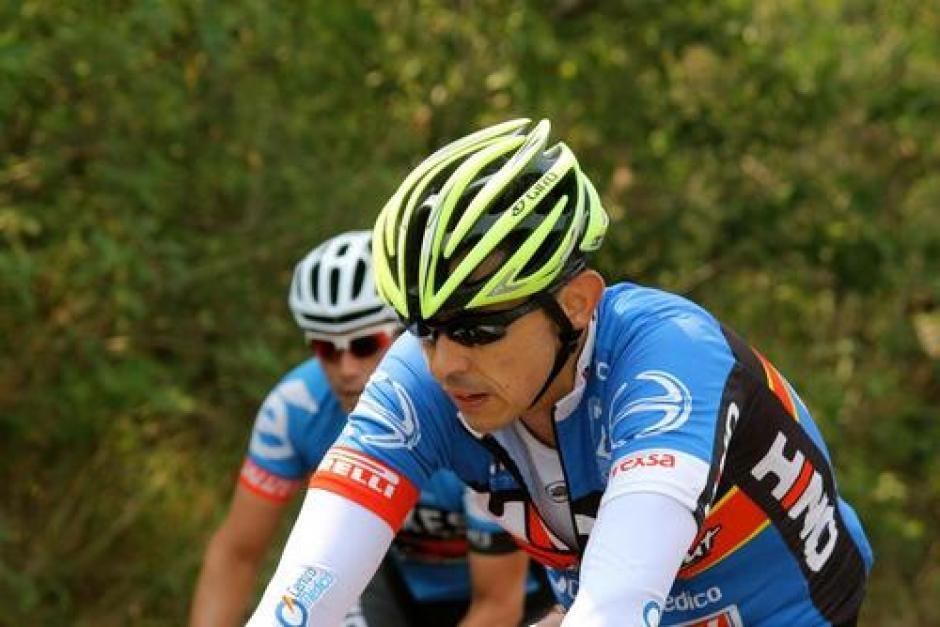 Juan Pablo Gularte era un ciclista profesional que murió a causa de las heridas provocadas por el impacto del carro que conducía Banús. (Foto: Archivo/Soy502)