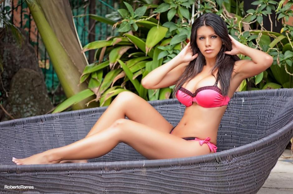Adriana Corella, un ángel nacido en Costa Rica. (Foto: Roberto Torres)