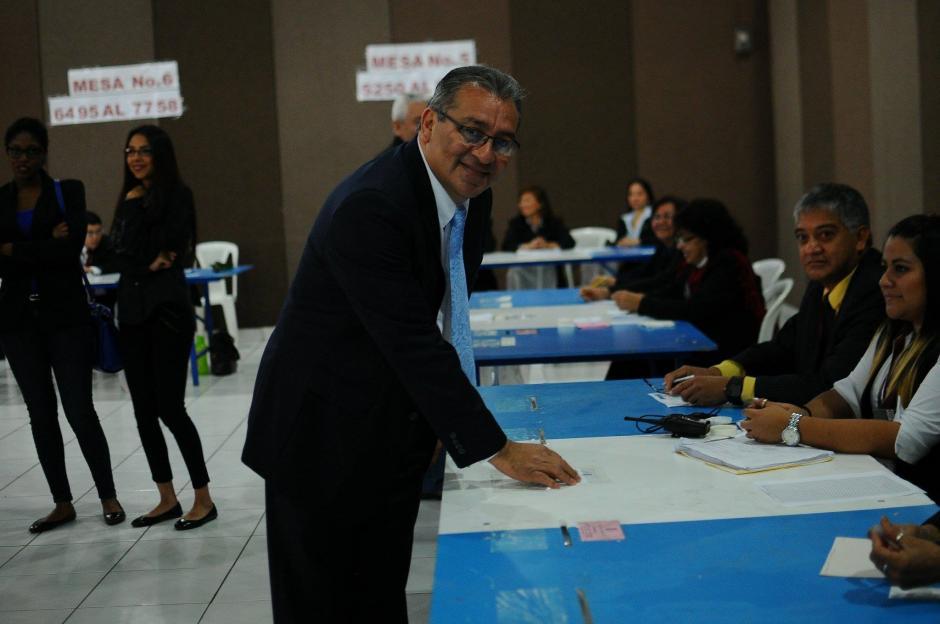 El exdecano de la Facultad de Derecho de la Universidad de San Carlos, Bonerge Mejía, busca una magistratura titular. (Foto: Alejandro Balán/Soy502)