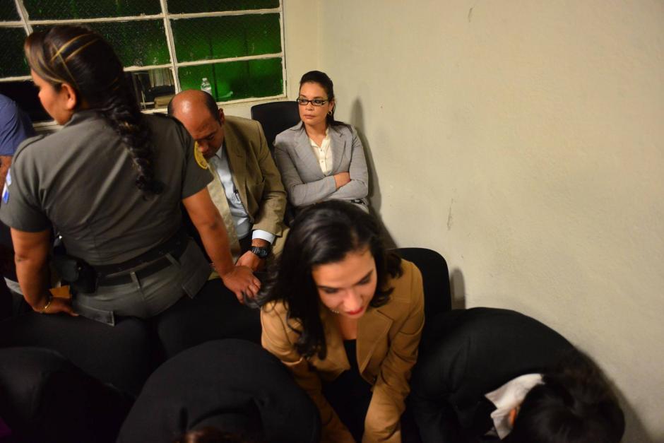Baldetti, fue capturada el 21 de agosto de 2015 por el caso La Línea y en febrero de 2016 el MP pidió citarla para el nuevo proceso legal. (Foto: Jesús Alfonso/Soy502)