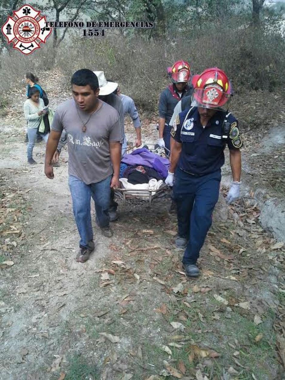 Orlando González de 75 años cayó a un barranco de 25 metros de profundidad en Palencia desde hace tres días y fue localizado con vida por socorristas. (Foto: @CBMDEPTAL)