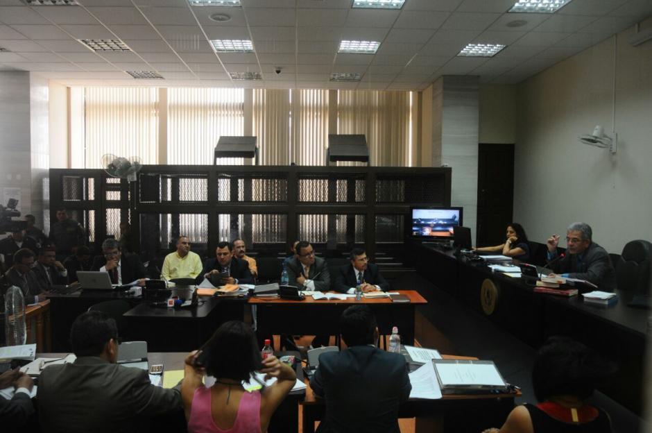 El excandidato vicepresidencial de Líder escuchó los hechos por los que será sentenciado. (Foto: Alejandro Balán/Soy502)