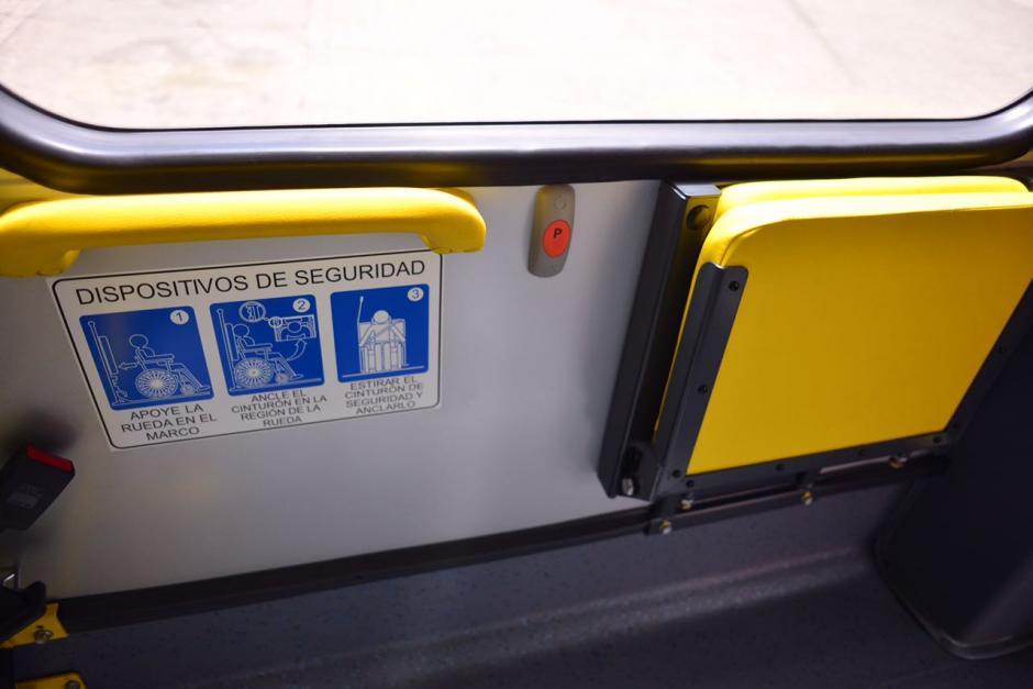 Las nuevas unidades de Transmetro están acondicionadas para transportar a pasajeros en sillas de ruedas. (Foto: Jesús Alfonso/Soy502)