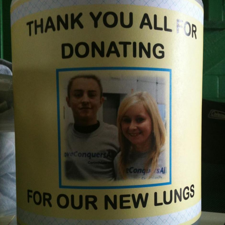 Por la infección Burkholderia cepacia los dos tuvieron que recibir un transplante de pulmón. (Foto: Facebook, Dalton and Katie Prager's)