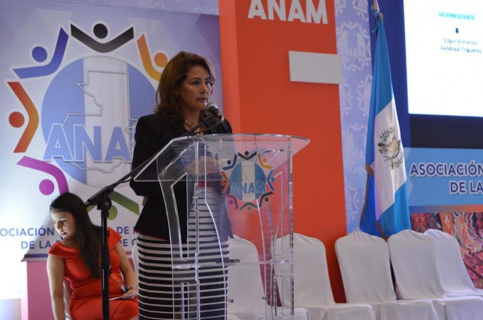 En la actividad participó la diputada Thelma Ramírez. (Foto: María Olga Vega/ Soy502)