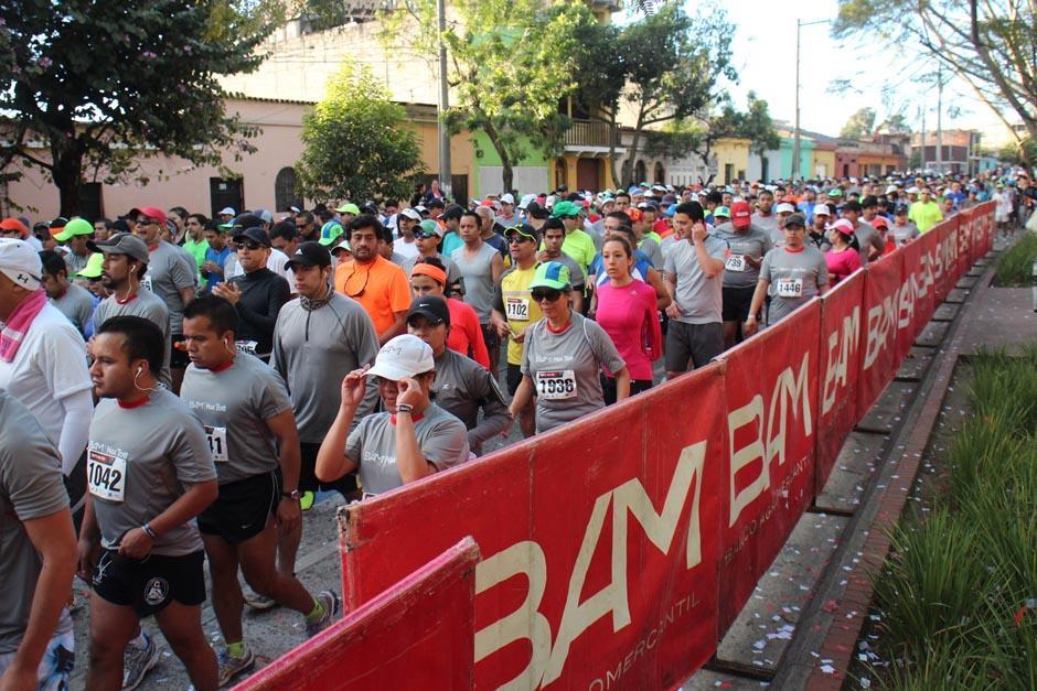 La salida fue a las 7 de la mañana sobre la calle Juan Chapín