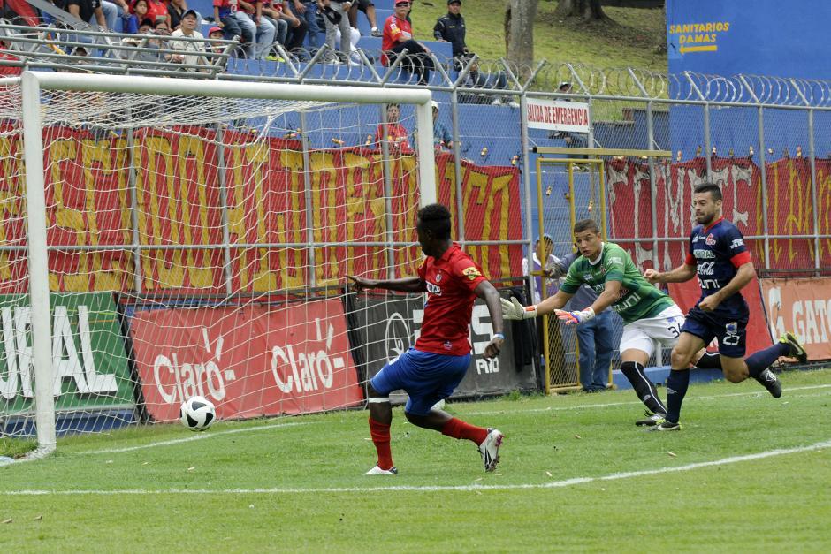 Con un gol de Marvin Ávila, Municipal superó 1-0 a Malacateco. (Foto: Nuestro Diario)