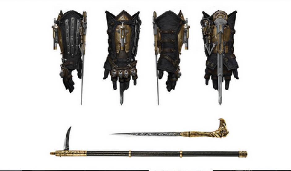 Además de las cuchillas ocultas, Jacob y Evie Frye disponen de un amplio arsenal a su disposición: un bastón que oculta una espada, un revólver, una manopla y una daga curva, típica del Nepal. (Foto: cnet.com)