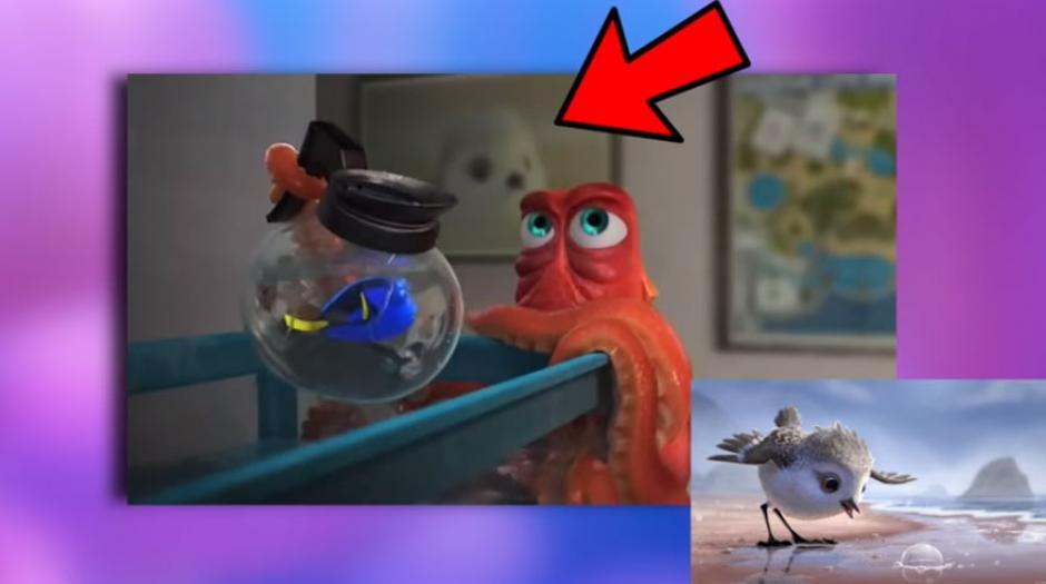 """""""Pipe """" es el corto que precede a """"Buscando a Dory """" y su protagonista, un ave, también aparece aquí. (Foto: Captura YouTube)"""