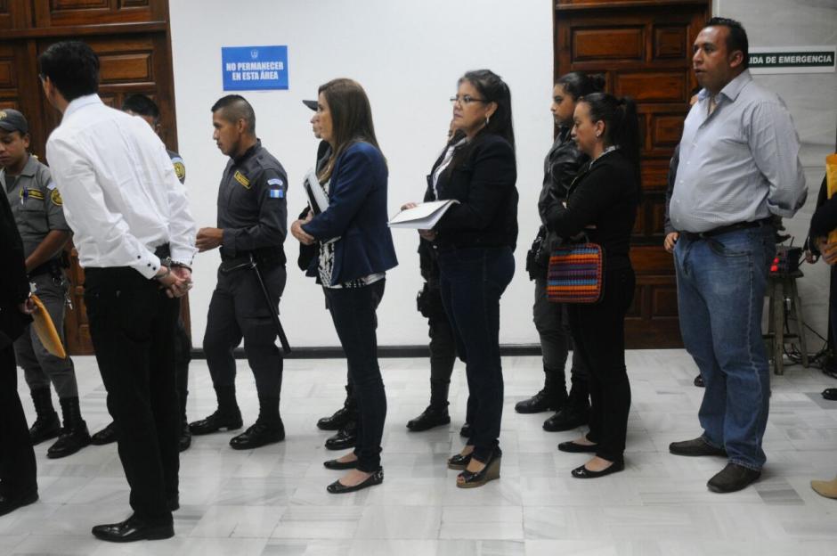 Varios de los implicados en el caso ya rindieron su primera declaración.  (Foto: Alejandro Balán/Soy502)