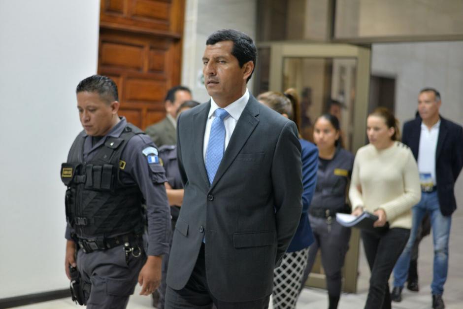 El exministro de Defensa, Manuel López Ambrocio está sindicado en el caso La Cooperacha. (Foto: Wilder López/Soy502)