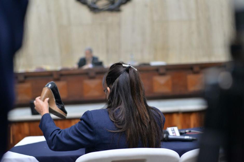 La sindicada protagonizó un altercado con una agente de seguridad del Sistema Penitenciario.  (Foto: Wilder López/Soy502)