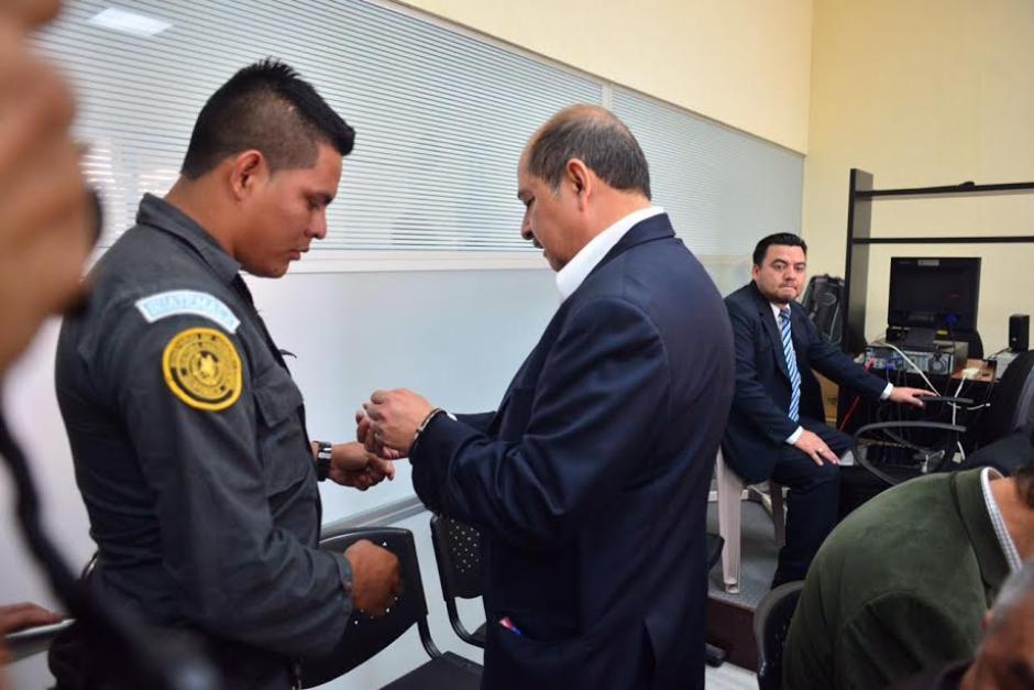 La audiencia de primera declaración estaba prevista para las 9:30 horas pero se aplazó. (Foto: Jesús Alfonso /Soy502)