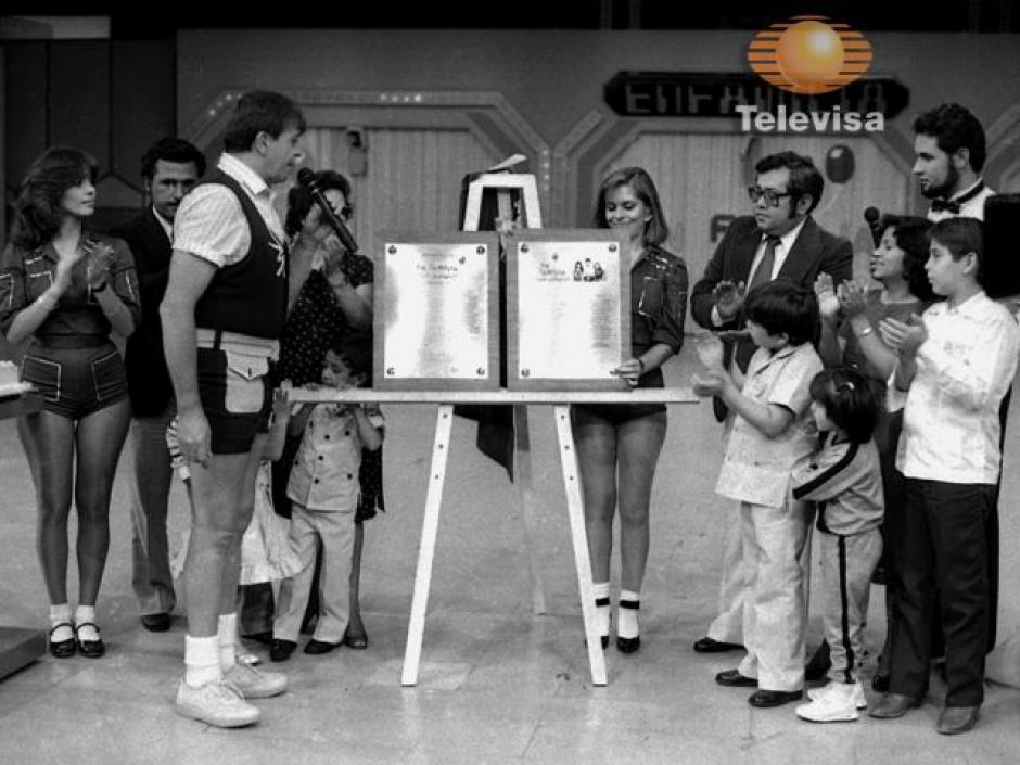 """En 1968 comenzó el programa de concursos infantiles """"En familia con Chabelo"""". (Foto: Televisa)"""