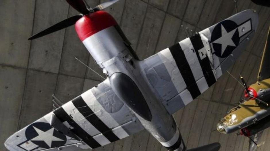 Los aviones P47-Thunderbold entraron servicio en 1942. (Foto: AP)